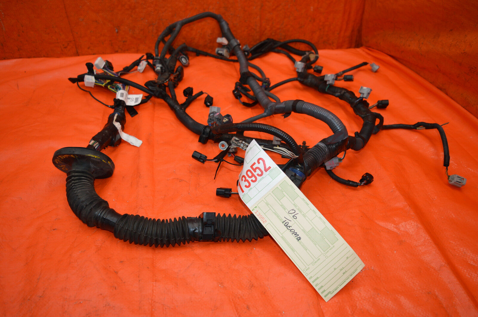 Used Toyota Tacoma Auto Parts And Components For Sale Wire Harness 2005 2009 40l V6 Oem 1gr Trd Atm Engine