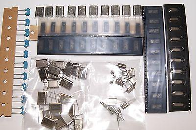 100pcs Kit Quartz Crystal Resonator 3582mhz 4 Mhz 6.400 Mhz 10 Mhz 12 Mhz Ndk