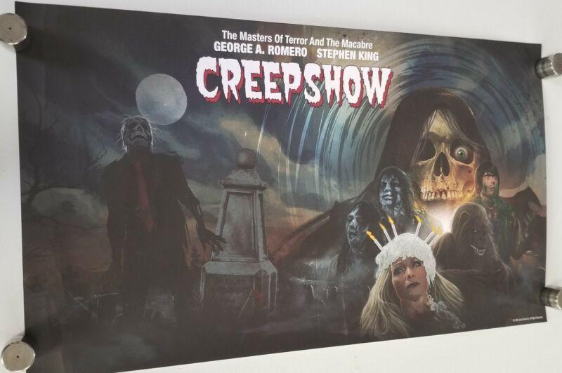 "Creepshow - SHOUT SCREAM FACTORY LITHOGRAPH 28.5"" X 16.5"" Poster movie horror"