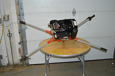 Post Hole Digger General 330 Two Man Honda Gxv160 Gas Power Borer Auger Fence