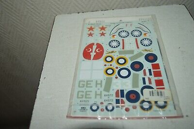 Decal Aeromaster Model Aircraft Foreign Tomahawk Collection 1/48