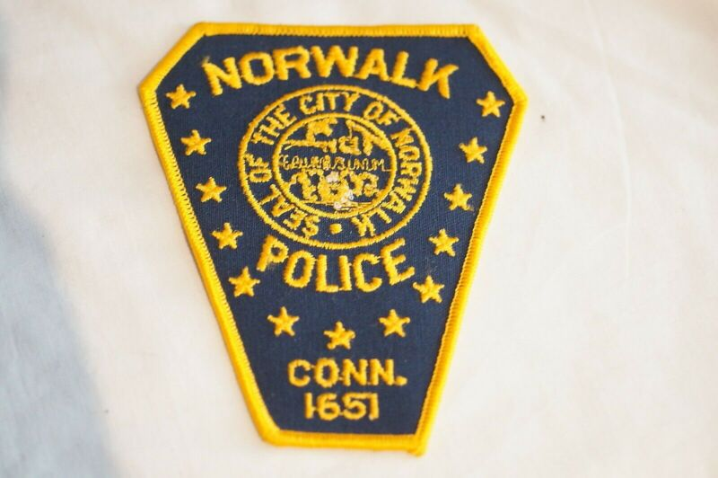 US Norwalk Connecticut Police Patch 1