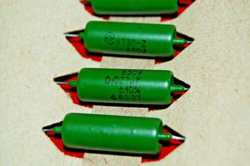 4x  0.022uF .022uF 22nf  630V USSR  Guitar Tone Capacitors