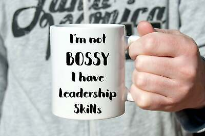 Gift Ideas For Boss Best Boss Ever Mug I'm Not Bossy I Have Leadership