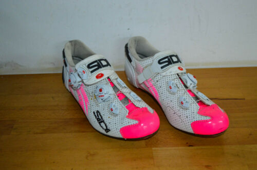 Sidi Wire Womans Carbon Road Cycling Shoes Size 39 1/2