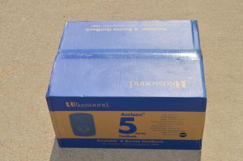 Russound 150W 2-Way Indoor/Outdoor Speakers (Pair) 5b65 Black