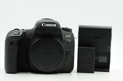 Canon EOS 77D DSLR 24.2MP Digital Camera Body                               #054