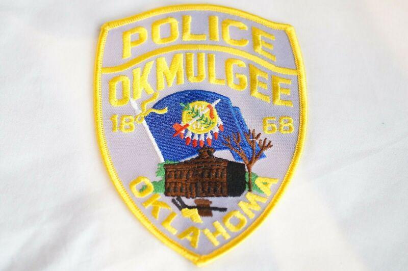 US Okmulgee Oklahoma Police Patch