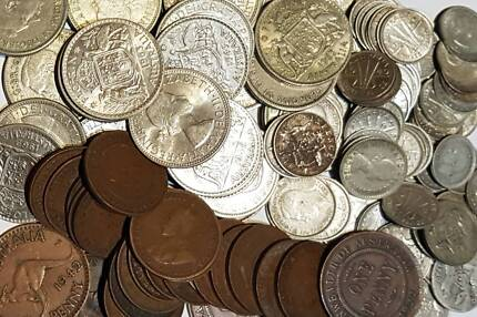 Wanted to buy Predecimal coins and banknotes Cairns area