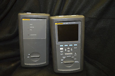 Fluke Networks Dsp-2000 Cable Analyzer Fluke Dsp-2000 Sr Smart Remote