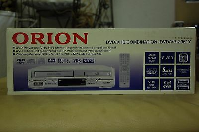 ORION DVD/VR2961 6-Kopf Videorecorder DVD-Player DVD/Videorekorder VHS DTS (NEU)