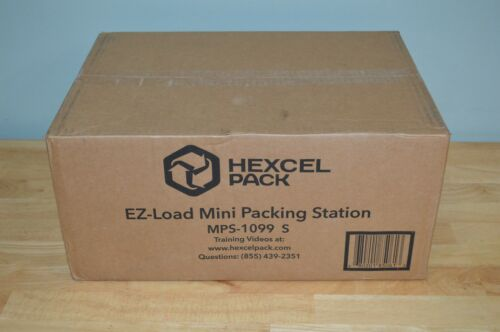 NEW Hexcel Pack EZ-Load Mini Packaging Station for Packaging Shipping MPS-1099 S