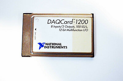 Usa National Instruments Ni Pcmcia Daqcard-1200 Ni Daq Card Analog Input
