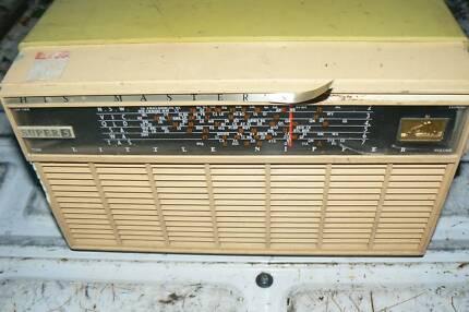 Radio 1950s Australia Hmv Valve Radio 1950s Good