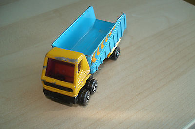 MATCHBOX LESNEY SUPERFAST No. 50 ARTICULATED TRUCK TIPPER