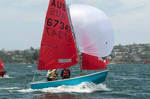 Mirror dinghy - wooden - immaculate refit Randwick Eastern Suburbs Preview