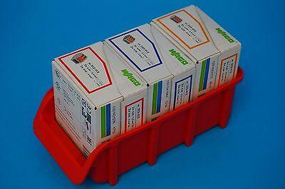 Wago Klemmen mit Hebel 222-412, 222-413, 222-415 Set mit Sichtbox - ganze VPE