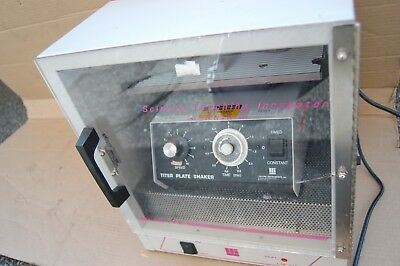 Lab-line Incubator With Orbital Titer Plate Shaker Tubes Thermoshaker Thermo