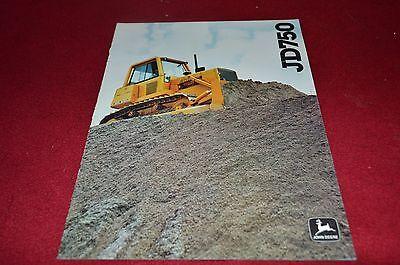 John Deere 750 Crawler Tractor Bulldozer Dealer Brochure YABE11 ver55