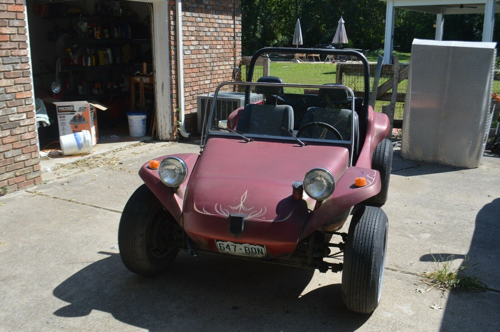 Meyers Manx Dune buggy Barn Find Project