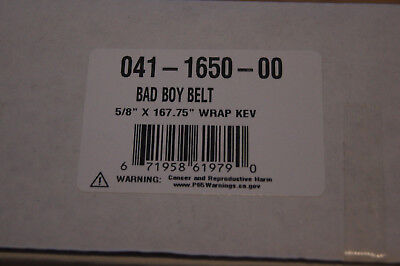 Replacement for BAD BOY MOWER DECK BELT # 041-1650-00 with KEVLAR REINFORCEMENT