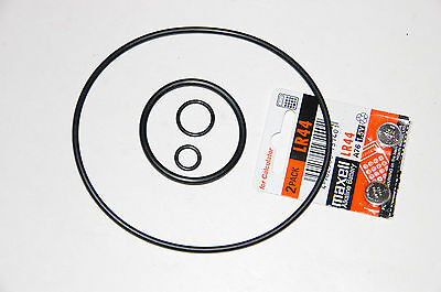 New Nikon Nikonos V battery and O-ring set / kit