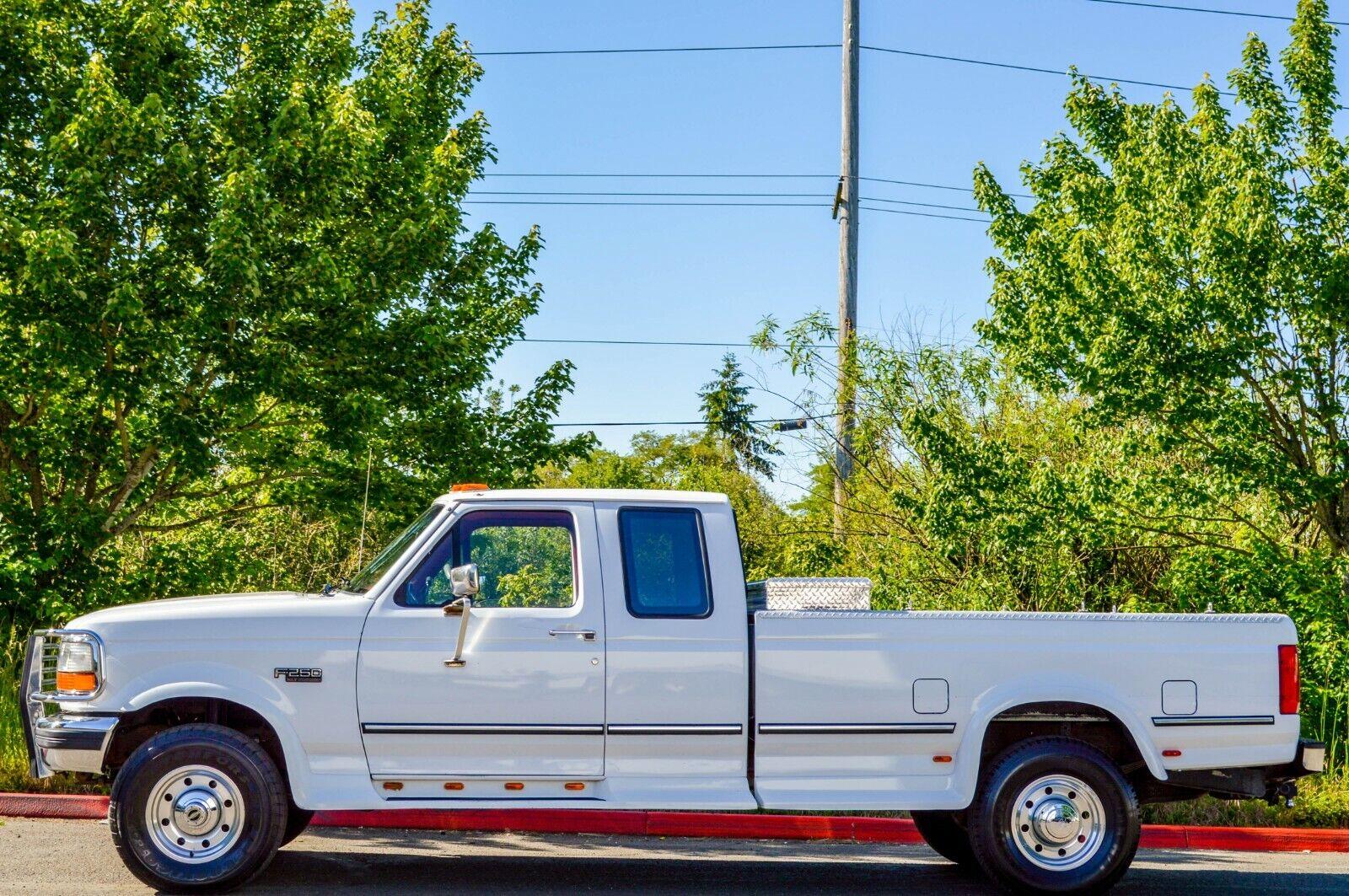 1995 FORD F250 SUPER CAB 4X4 7.5L V8 XLT ONLY 71K ORIGINAL MILES!!! OBS!!!