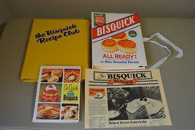 Vintage Bisquick Accordian Recipe File The Bisquick Banner Newspaper Cookbook
