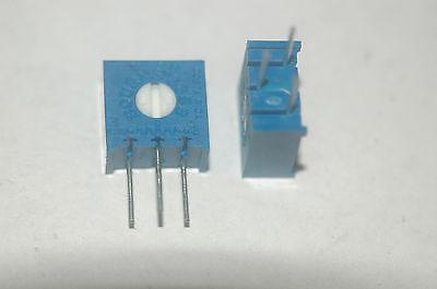Bourns 3386x-1-501 500 Ohm Potentiometer New Lot Quantity-10