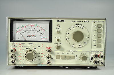 Leader Model 192A Audio Tester