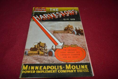 Minneapolis Moline 12FT Harvester Combine Dealer Brochure AMIL15