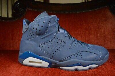 WORN 1X Nike Air Jordan 6 Retro Diffused Blue 384664-400 Purple Size 11.5
