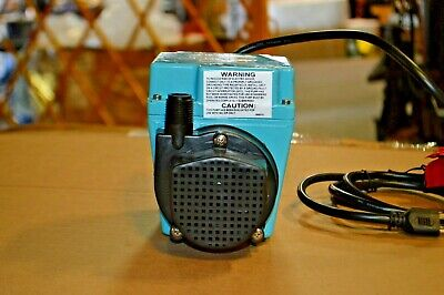 Little Giant 112 Hp Hp Compact Submersible Pump Model 1p322