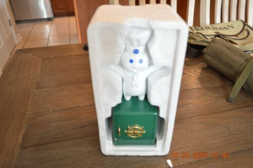 """Pillsbury Doughboy Giggling 9"""" Bank - Just in time for Christmas"""