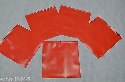 5 x Warnfahne Warnflagge Endfahne Schlussfahne rot 30 x 30 cm Ladungssicherung