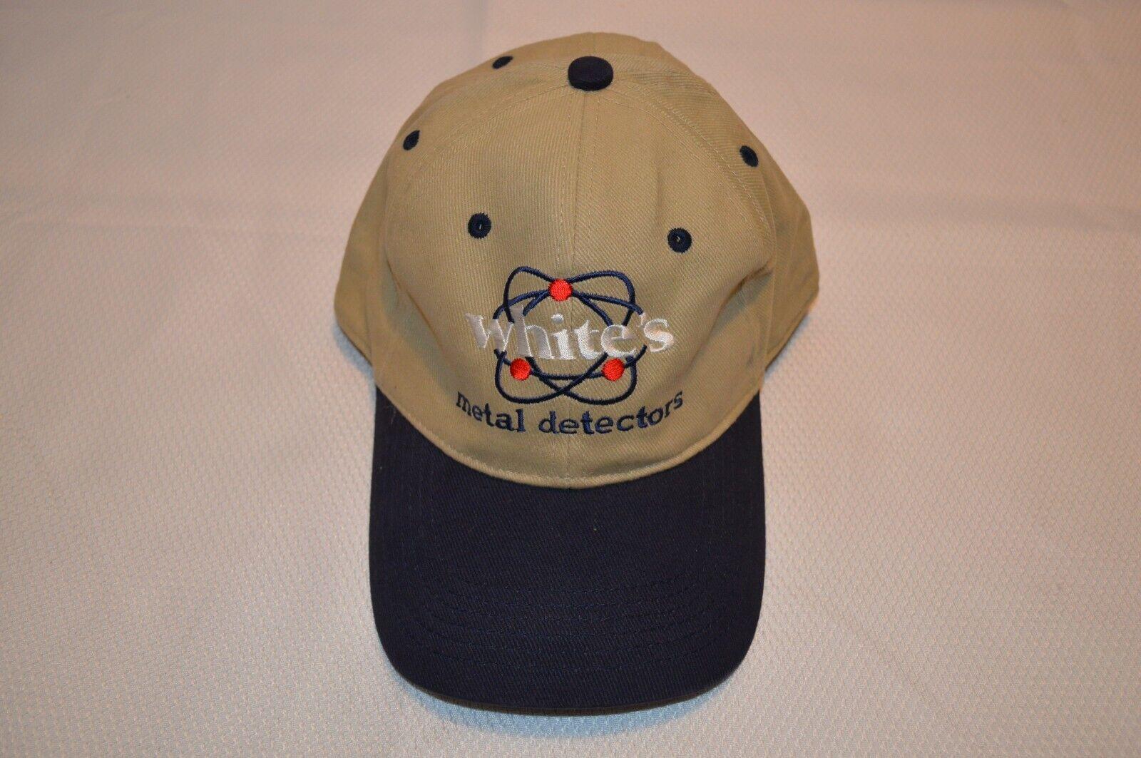 METAL DETECTOR ACCESSORIES ~ WHITE'S ~ BASEBALL ~ CAP ~ HAT