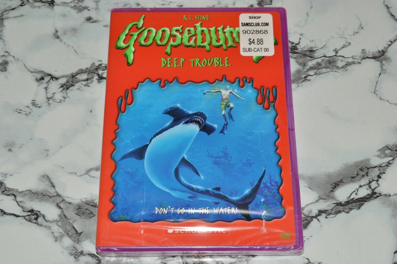 NEW - Goosebumps - Deep Trouble DVD, 2005 -- R.L. Stine Scholastic - $12.68