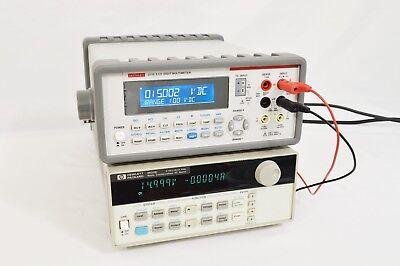 Hp Agilent Keysight 66311d Mobile Communications Dc Source W Dvm 15v 3a