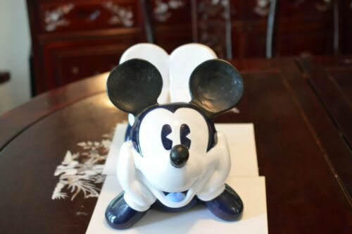 RARE LAYING DOWN MICKEY MOUSE DISNEY DIRECT CERAMIC COOKIE JAR