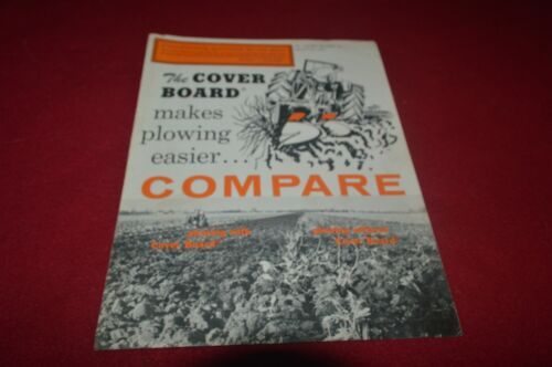 Cover Board Plow Brochure TBPA