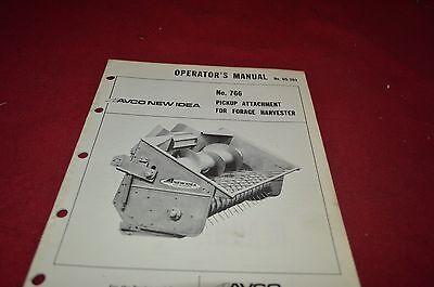 Pick Up Ideas (New Idea 766 Pick Up Head Operator's Manual DCPA5)