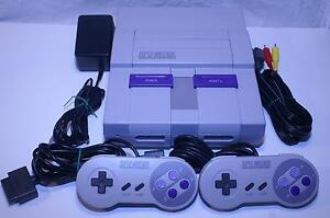 Super Nintendo SNES System - Cleaned, Refurbished & Guaranteed!