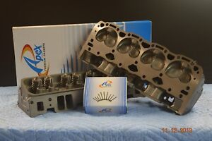 Cylinder Head Chevy 350 5.7L V8 SBC 062/906 Vortec 96-02 PAIR w/ Head Gasket and