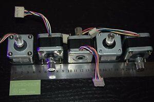PACK-LOTE-5-X-MOTOR-PASO-A-PASO-MINEBEA-NEMA-17-3D-CNC-REPRAP-ROBOT