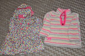 Girls Raincoat and Fleece age 5 - Stunning - barely used Bilgola Pittwater Area Preview