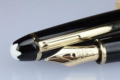 Montblanc Meisterstuck Stilografica Nib Oro-Giallo