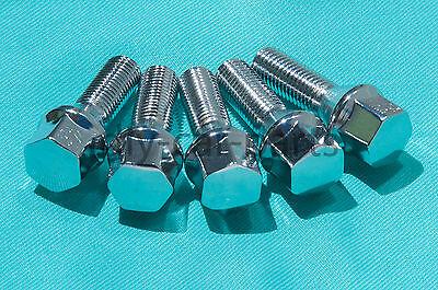 Set of 20 Chrome BMW Lug Bolts Nuts 525i 528i 530i 330i M5 328i 645Ci M3 Z3 Z4