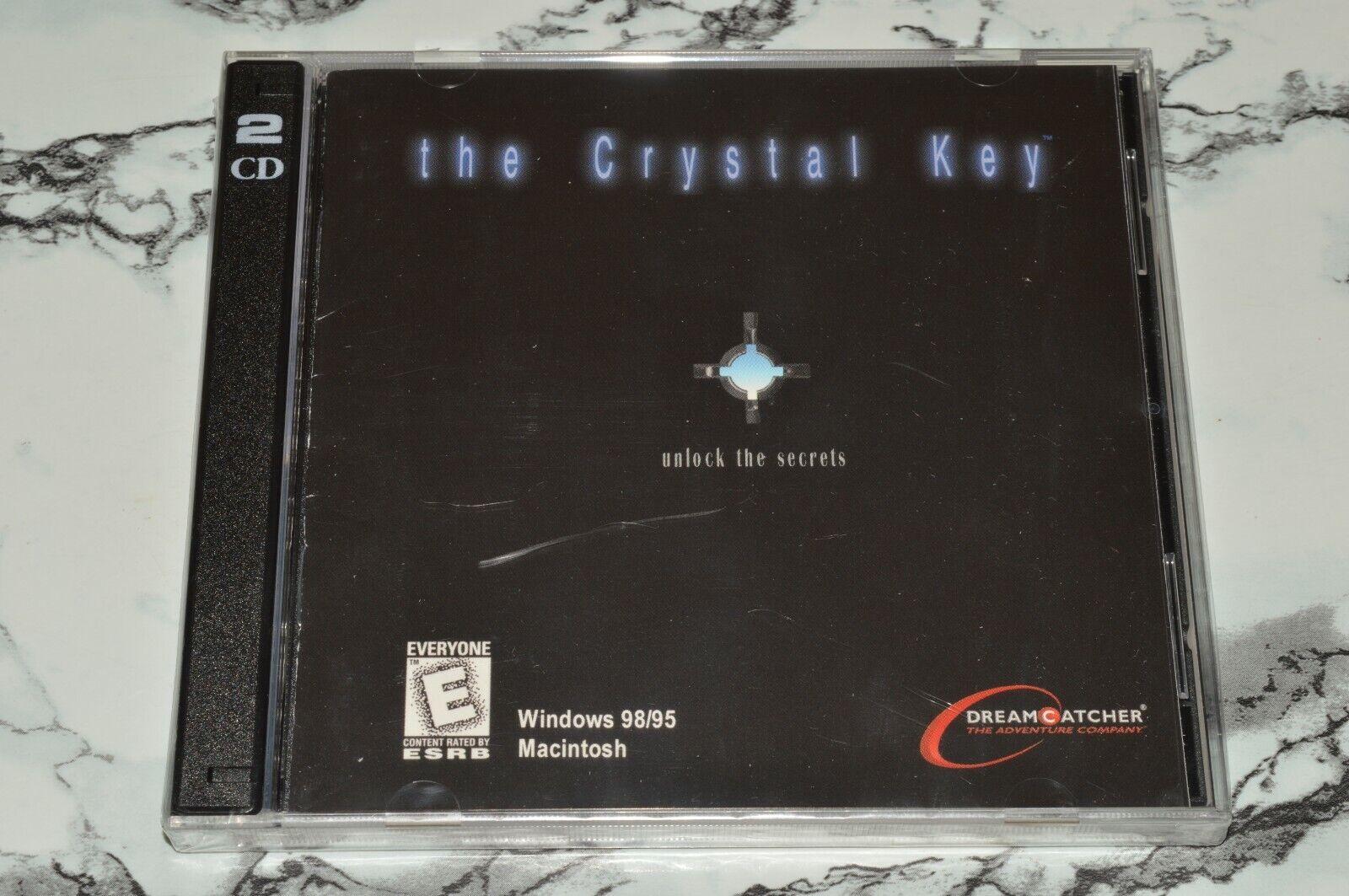 NEW - The Crystal Key Windows 98 / 95 / Macintosh Game -- Please Read  - $11.18
