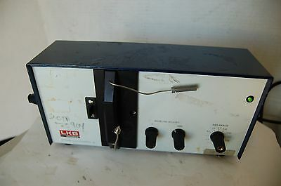 Lkb Pharmacia Uvicord 2138 S Hplc Lc Uv Detector Vis Chromatography Lc 278 Nm