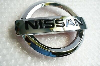 New 2007 2012 NISSAN ALTIMA FRONT GRILLE EMBLEM Hood Grill Chrome 62890 JA000